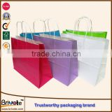 custom kraft paper bag for charcoal small brown kraft paper bags reclosable kraft paper bags