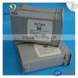 Direct factory price for HP80 refill ink cartridge for HP Designjet 1050 1055
