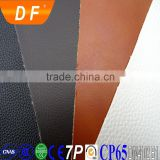 high quality black leather for making hair washing bed