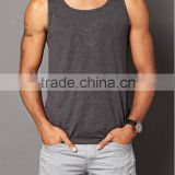 2016 professional factory bulk wholesale fitness tight muscle men sport wear tank top with wholesale price
