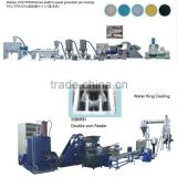 nanjing mixer PE Masterbatch Compound Pelletizing Machine Line/PE,pvc EVA compound Granulation pelletizing machine Line