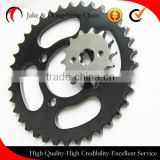 XCD-125 42T fine blanking motorcycle chain sprocket price single punching