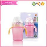 Wholesale BPA Free Plastic Sippy Cup Drinking Water Bottle for 6 months Old Baby