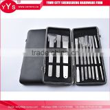 2016 Latest Made In China foot pedicure knife grooming kit manicure set travel