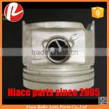Toyota coaster Land Cruiser piston assembely set STD steel strong +0.5 1HZ engine OEM 13101-17010 01 02 03 parts wholesale