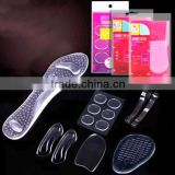 Unisex Silicone Heel Protector Foot Care Gel Protectors Heel Cushions heel pain relieve insole