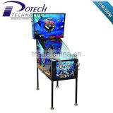 Coin Pusher Arcade Pinball Game Machine For Adult