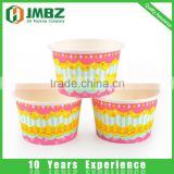 Paper,280gsm food grade paper +double 18 PE Material and Single Wall Style ice cream paper cup wholesale