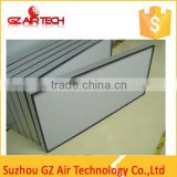 Air Conditioning System Gel Seal Fiberglass Hepa Media Filter