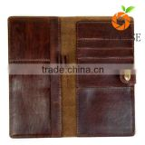 Hot Sale MEN'S Genuine Leather Wallets Long clutch Fashion Simple Cowhide Wallet Ladies Clutch High Quality