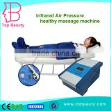 infrared pressotherapy Air pressure lymphatic treatment leg massager machine