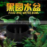 Nomo black plastic water and food bowl for animal transport cage