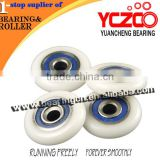 Wholesale rubber roller/glass shower room pulley wheels
