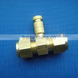 brass straight fitting for high pressure mist system