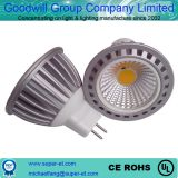 AC/DC12-24V 3W aluminum MR16 COB LED spotlight replace halegon 10w 20w 30w