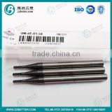 Tungsten carbide 0.5mm micro end mill from zhuzhou