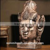 Southeast resistant household resin bronze Buddha head