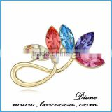 Top quality shine fancy brooch,latest design guangzhou wholesale brooch
