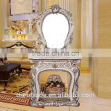 2017 new design artistical dressing table console table with mirror