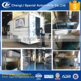 CLW JBC 4x2 multi function mobile food truck car for selling snack fast food drinks with cheap factory price