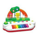 educational electronic toys, animal plastic toy pianofor kids