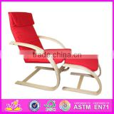 2015 Wooden Rocking Chairs for kids,wooden toy rocking chair for children,comfortable wooden rocking chair toy for baby W08F025