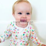 Baby clothes summer best seller bunt polka dot printed cotton jumpsuit