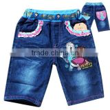 brand new summer girls denim jean for 2-8 years girls jean kids jean