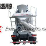Sinotruk HOWO Mixer Truck 6*4 EUROⅡ Medium Length Cab