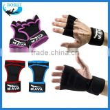 Sportswear fitness neoprene gloves with loops Neoprene custom weight lifting gloves manufactures
