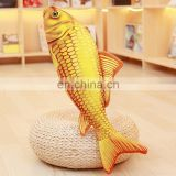 Wholesale Gold Fish Toy Plush Doll 3D Simulation For Children