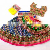 Dandiaya Chaniya Choli- Cotton Patchwork Chaniya Choli- Indian Handmade Patchwork Gagra Choli