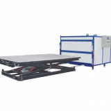 Glass Laminating machine with EVA film