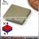 "SmCo Magnet Block 3/8""X3/8""X1/16"" Samarium Cobalt Magnet used for industrial"