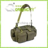 Men Army Green Canvas Leather School Military Shoulder Bag Messenger
