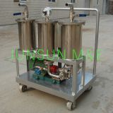 JL Series Portable Oil Purification/ Oil Filtration Unit With Three Filter Elements