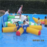 Lake Inflatables Water Totter Seesaw For Water Sport Games , Water Sports Equipment