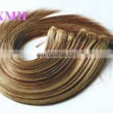 Hot selling most popular factory price mixed color remy hair extensions