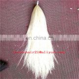 Raw Pattern and Pelt Type Black horse tail hair
