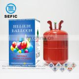 Low pressure self used steel disposable helium cylinder filled 50PCS balloon helium tank