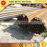 MS ERW black round steel tube price /welded steel pipe Q235 A53 SS400