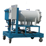 china automatic backwash high quality oil recycling distillation plant