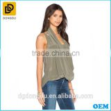 women clothes manufacturers overseas double layers spaghetti sexy ladies blouses and tops