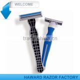 Safety razor Factory supply twin blade razor