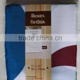 WHOLESALE CUSTOM PRINTED SHOWER CURTAIN MADE IN CHINA