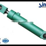 Long stroke single acting hydraulic cylinder piston type for crane