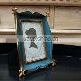 special design custom style factory price high quality embossed logo metal photo frame 1610