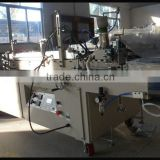 PVC PET plastic box semi-auto gluing machine