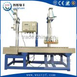 semi-automatic weighting liquid drum barrel filling machine