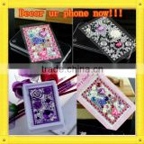 2013 self adhesive Acrylic Stickers for cell phone Hot Selling Rhinestone Sticker for your mobile case